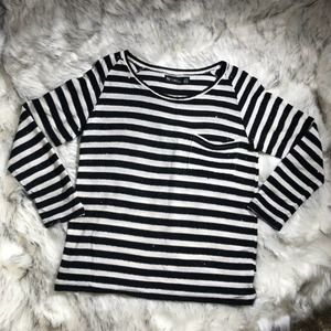 Urban Outfitters | emo striped knit sweater